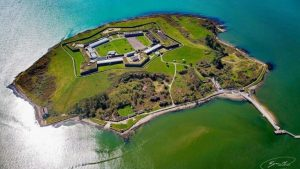 Spike Island desde el aire Cobh Irlanda