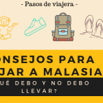 CONSEJOS PARA VIAJAR A MALASIA - pasos de viajera