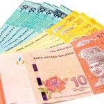 ringgit malasia dinero metálico
