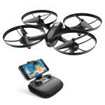 Dron con cámara - pasos de viajera