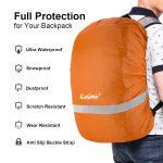 Funda impermeable de mochila - pasos de viajera