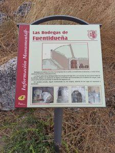 Bodegas de Fuentidueña - pasos de viajera