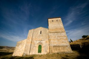 iglesia san miguel-fachada-fuentidueña
