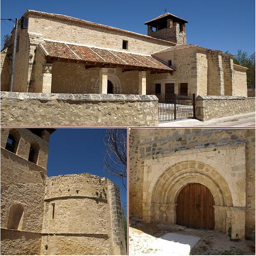 iglesia santa maria la mayor-fuentidueña