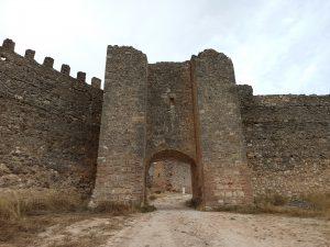 puerta Alfonso VIII-sur-Fuentidueña-pasos de viajera