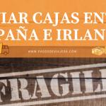 ENVIAR CAJAS ENTRE ESPAÑA E IRLANDA