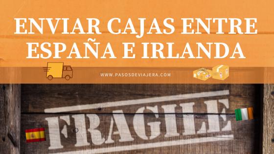 Servicios de envío de paquetes entre España e Irlanda